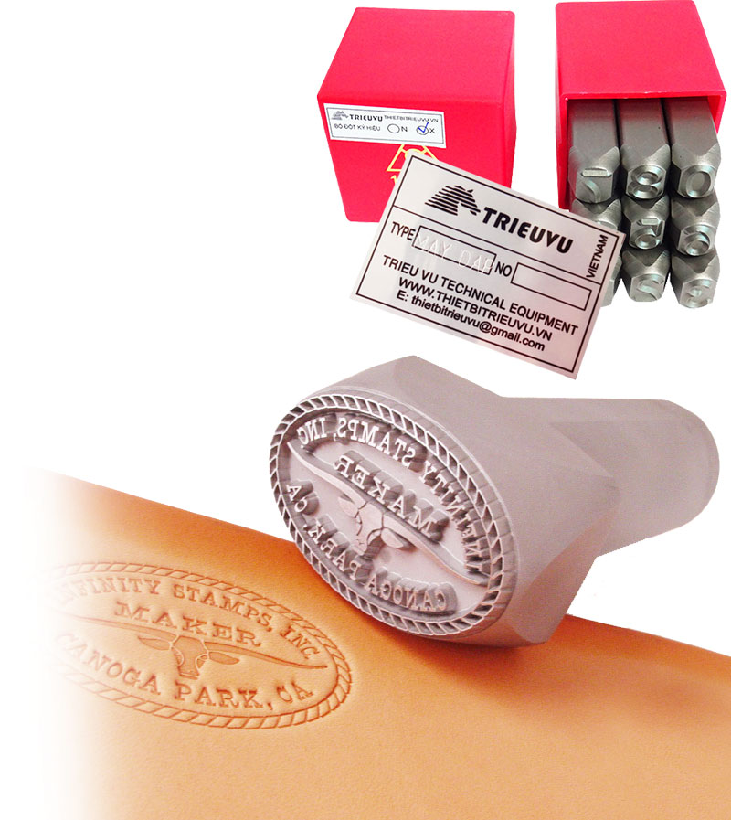 Dot metal stamps